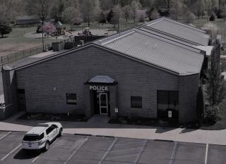 Police Department entrance